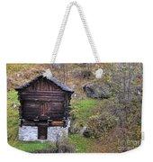 Old Rustic House Weekender Tote Bag