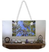 5-panel - A Forest Sky Weekender Tote Bag