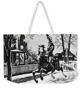 Paul Reveres Ride, 1775 Weekender Tote Bag
