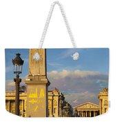 Place De La Concorde Weekender Tote Bag