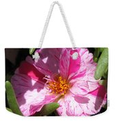 Portulaca Named Sundial Peppermint Weekender Tote Bag