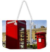 Post Box Phone Box Weekender Tote Bag
