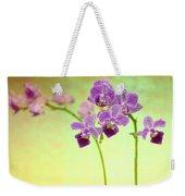 Purple Orchid-8 Weekender Tote Bag