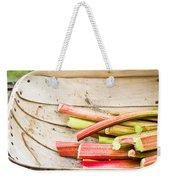 Rhubarb Weekender Tote Bag