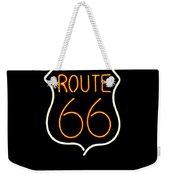 Route 66 Edited Weekender Tote Bag