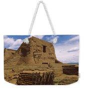 Ruins Of The Pecos Pueblo Mission Weekender Tote Bag