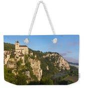 Saint Cirq Lapopie Weekender Tote Bag by Brian Jannsen