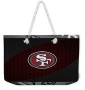 San Francisco 49ers Weekender Tote Bag