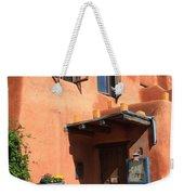 Santa Fe Adobe Building Weekender Tote Bag