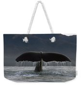 Sperm Whale Tail New Zealand Weekender Tote Bag