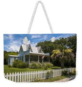 Sullivan's Island Tin Roof Story Book Cottage Weekender Tote Bag