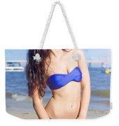 Summer Holiday Weekender Tote Bag