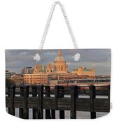 Sunset Over St Pauls Cathedral London Weekender Tote Bag