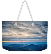 Sunset View Over Blue Ridge Mountains Weekender Tote Bag