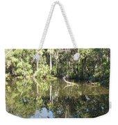 Swamp Reflection Weekender Tote Bag