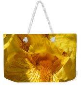 Tall Bearded Iris Named Saharan Sun Weekender Tote Bag