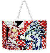 The Annunciation Weekender Tote Bag by Gloria Ssali