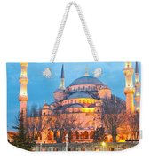 The Blue Mosque - Istanbul Weekender Tote Bag