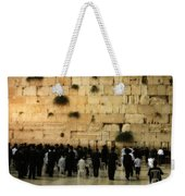The Wailing Wall Weekender Tote Bag