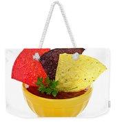 Tortilla Chips And Salsa Weekender Tote Bag