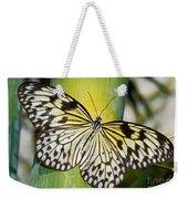 Tree Nymph Butterfly Weekender Tote Bag