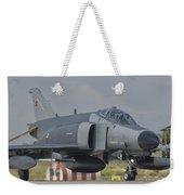 Turkish Air Force F-4 Phantom At Konya Weekender Tote Bag