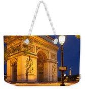 Twilight At Arc De Triomphe Weekender Tote Bag