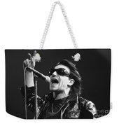 U2 - Bono Weekender Tote Bag