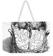 Vesalius: Brain, 1543 Weekender Tote Bag