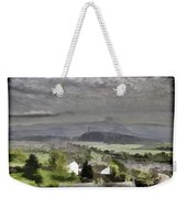 View Of Wallace Monument And Surrounding Areas Weekender Tote Bag