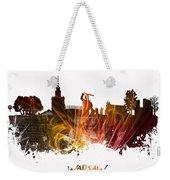Warsaw City Skyline Weekender Tote Bag