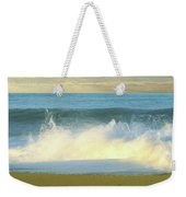 Waves Breaking On The Beach, Playa La Weekender Tote Bag