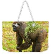 Western Lowland Gorilla Female Weekender Tote Bag
