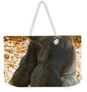 Western Lowland Gorilla Male Weekender Tote Bag