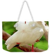White Ibis Eudocimus Albus Weekender Tote Bag