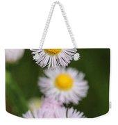 Wildflower Named Robin's Plantain Weekender Tote Bag