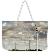 Wind Powered Electric Turbine Weekender Tote Bag
