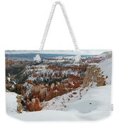 Winter Scene, Bryce Canyon National Park Weekender Tote Bag