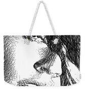 Woman Sketch Weekender Tote Bag