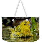Yellow Warbler Weekender Tote Bag