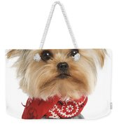 Yorkshire Terrier Dog Weekender Tote Bag
