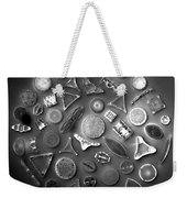 50 Diatom Species Arranged  Weekender Tote Bag