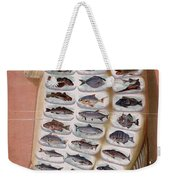 50 Fish From American Waters Weekender Tote Bag by Georgia Fowler