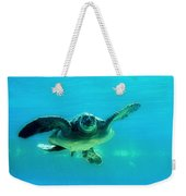Green Submarine Weekender Tote Bag