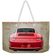 50 Years Of The Porsche 911 E182 Weekender Tote Bag