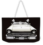 50s Ford Fairlane Convertible Weekender Tote Bag