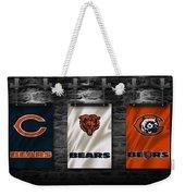 Chicago Bears Weekender Tote Bag