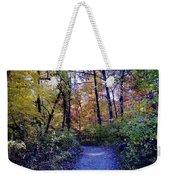 A Path In The Woods Weekender Tote Bag