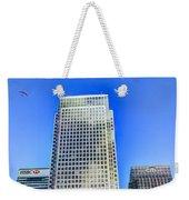Canary Wharf London Weekender Tote Bag