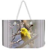 5393-006 - Pine Warbler-fb Weekender Tote Bag